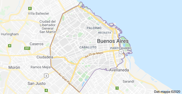 buenos aires mappa