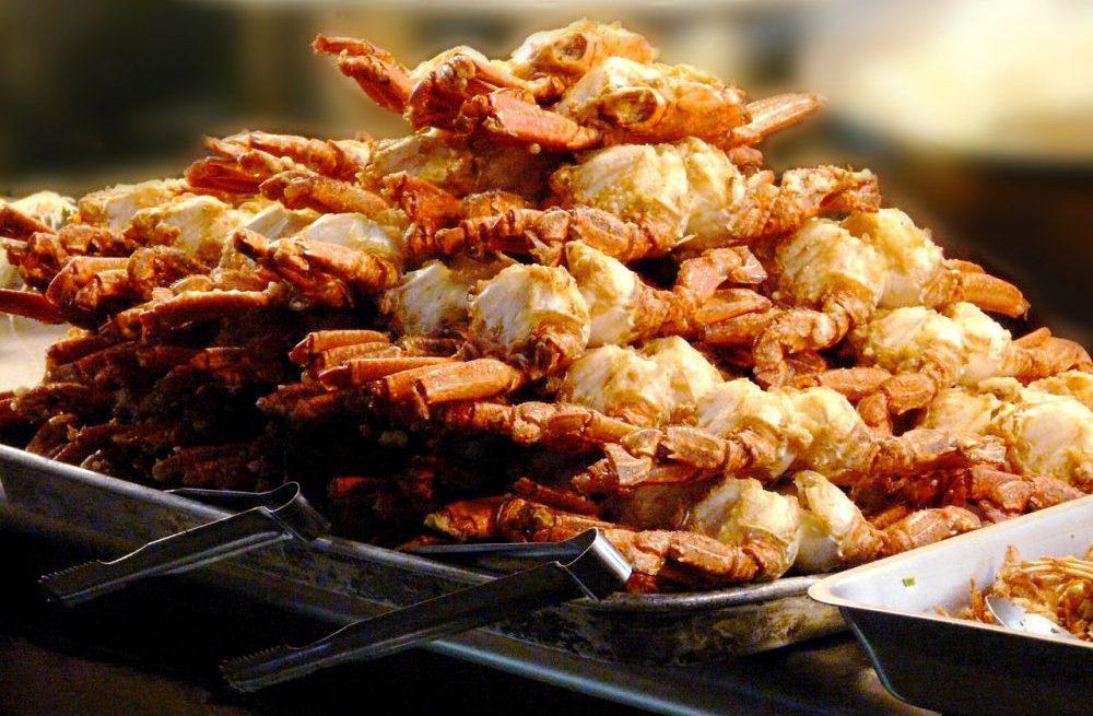 granchi fritti cucina taiwanese