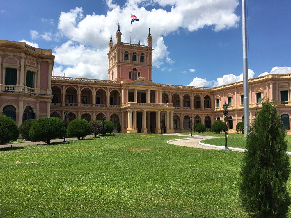 Palacio de los López asuncion foto