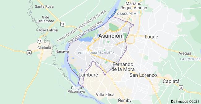 mappa asuncion